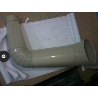Ventilation plastic  buy in online store PlastDesign Ukraine