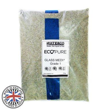 Песок стеклянный Waterco EcoPure 0,5-1,0 купить в интернет-магазине ПластДизайн Украина