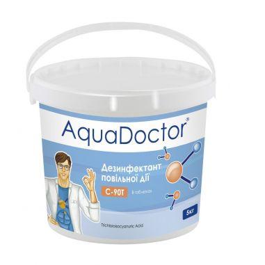 AquaDoctor C-90T хлор длит. действия 5 кг купить в интернет-магазине ПластДизайн Украина