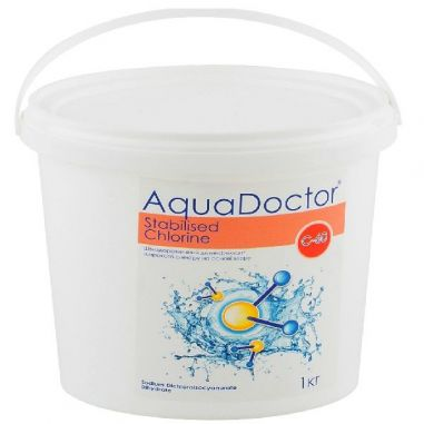 AquaDoctor C-60 chloro-5 shock kg  buy in online store PlastDesign Ukraine